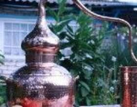 Аламбик – древнейший самогонный аппарат из меди фото