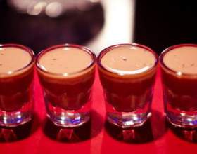 Алкогольные коктейли с вишневым соком и сиропом фото