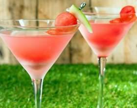 Арбузные алкогольные коктейли: простые рецепты фото