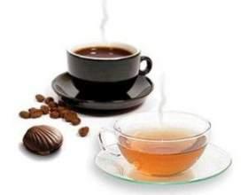 Чай и кофе с ликером фото
