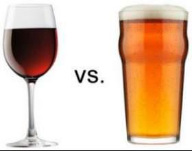 Что вреднее: пиво или вино? фото