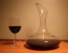 Для чего нужна деконтация вин? фото