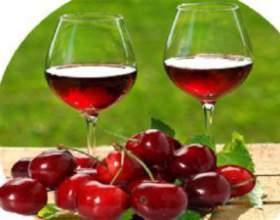 Домашнее вино из черешни фото