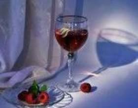 Домашнее вино из малины фото