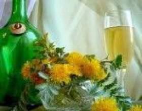 Домашнее вино из одуванчиков фото