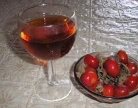 Домашнее вино из шиповника фото