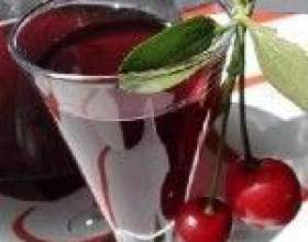 Домашнее вишневое вино фото