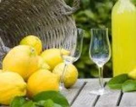 Домашний лимончелло фото