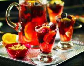 Домашний пунш — рецепт алкогольный и несколько безалкогольных фото