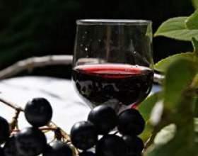 Домашняя наливка из черноплодной рябины фото