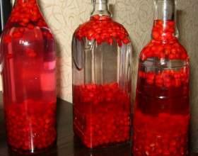 Домашняя настойка из ягод на водке фото
