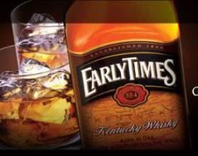Early times: старый добрый виски в лучших американских традициях фото