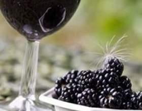 Ежевичное вино в домашних условиях фото
