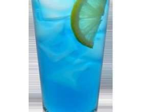 Голубая лагуна – неординарное сочетание водки и ликера фото