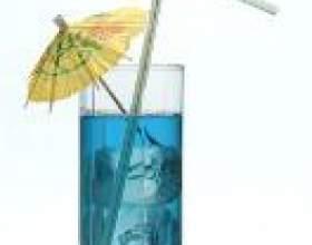 Голубой гавайский фото