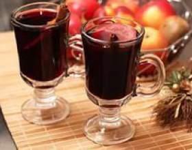 Горячее вино глинтвейн. Рецепт фото