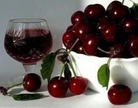 Готовим домашнее вино из вишни фото