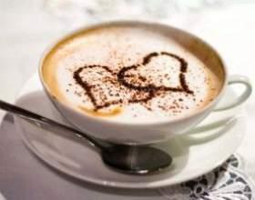 Готовим кофе латте фото