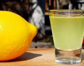 Готовим лимонную настойку на водке фото