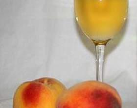 Готовим персиковое вино дома фото