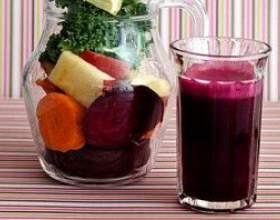 Готовим полезные напитки из овощей фото