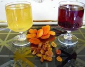 Готовим вино и сухофруктов фото