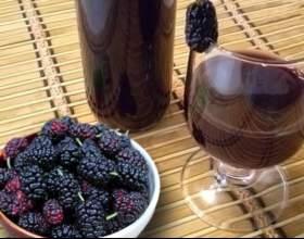 Готовим вино из шелковицы в домашних условиях фото