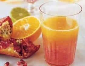 Гранатово-грейпфрутовый фреш фото