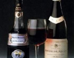Изысканное бургундское вино фото