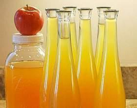 Яблочная настойка на спирту фото