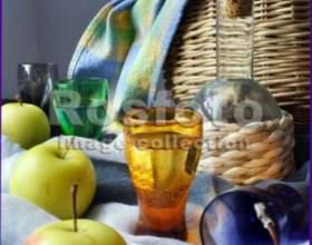 Яблочное шампанское фото
