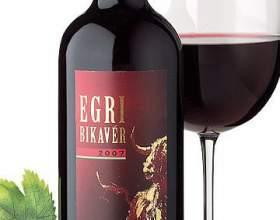 Эгерское вино «бычья кровь» фото