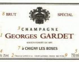 Этикетка шампанского фото