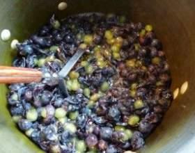 Как поставить брагу на основе винограда фото