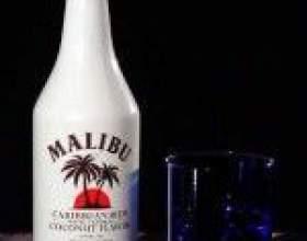 Как правильно пить кокосовый ликер малибу фото