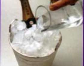 Как правильно подавать шампанское фото