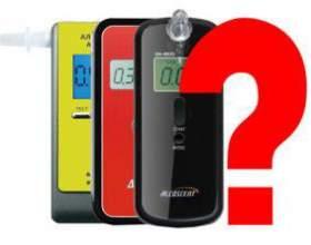 Как правильно выбрать алкотестер? фото