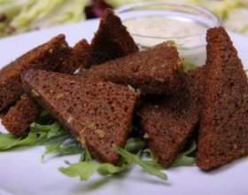 Как приготовить гренки чесночные, соленые, с сыром к пиву — рецепт фото