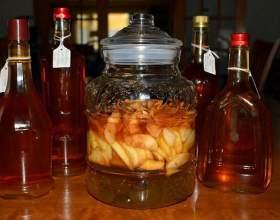 Как приготовить яблочный и айвовый ликер фото