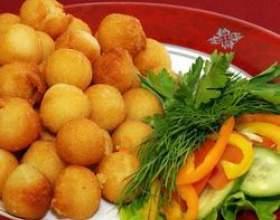 Как приготовить картофельные шарики фото
