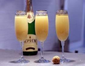 Как приготовить коктейли с шампанским фото