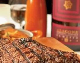 Как приготовить мясо в вине красном фото