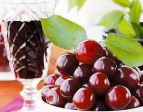 Как приготовить вкусное вино из черешни? фото