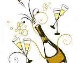 Как разморозить бутылку шампанского фото