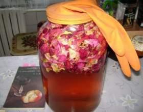 Как сделать шампанское из лепестков роз в домашних условиях фото