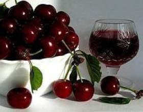 Как сделать вишневое вино в домашних условиях. Рецепт фото
