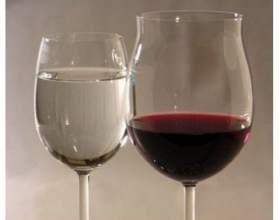 Как вино разбавить водой фото