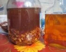 Классические рецепты водки на орехах (грецких и кедровых) фото