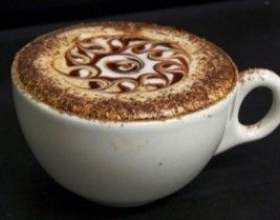 Кофе эспрессо и кофе капучино фото