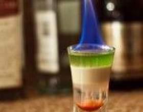 Коктейль хиросима – взрывная смесь самбуки и абсента фото